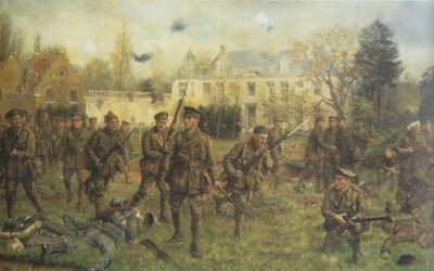 How the Worcesters saved the day Worcestershire commemorates the historic Battle of Gheluvelt