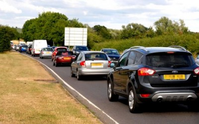 Gridlock in Worcester due to council traffic survey
