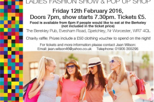 New Hope Ladies Fashion Show & Pop Up Shop – 12th Feb